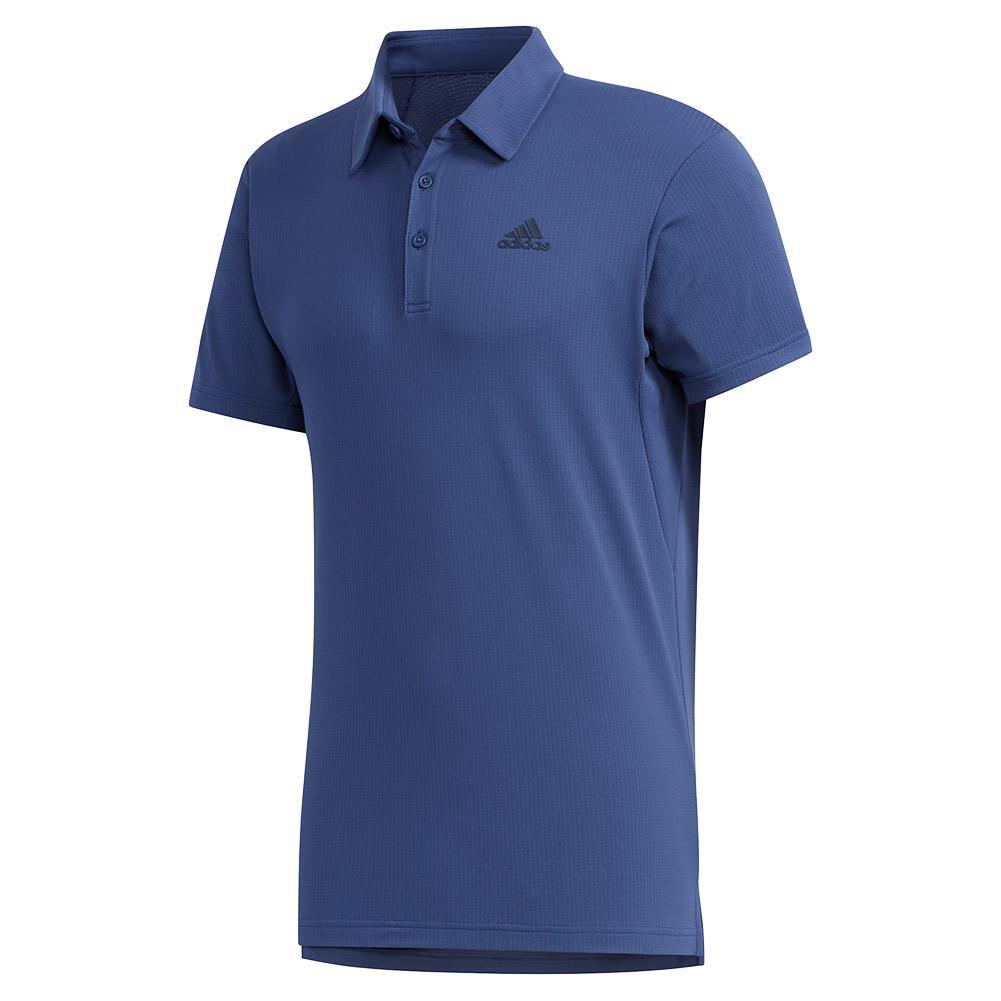 Men's Heat.Rdy Color Block Tennis Polo Tech Indigo