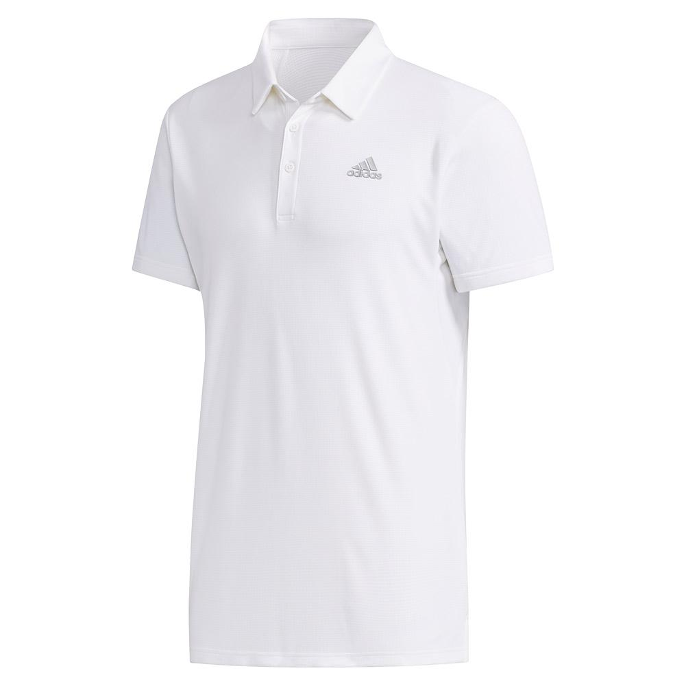 Men's Heat.Rdy Color Block Tennis Polo White