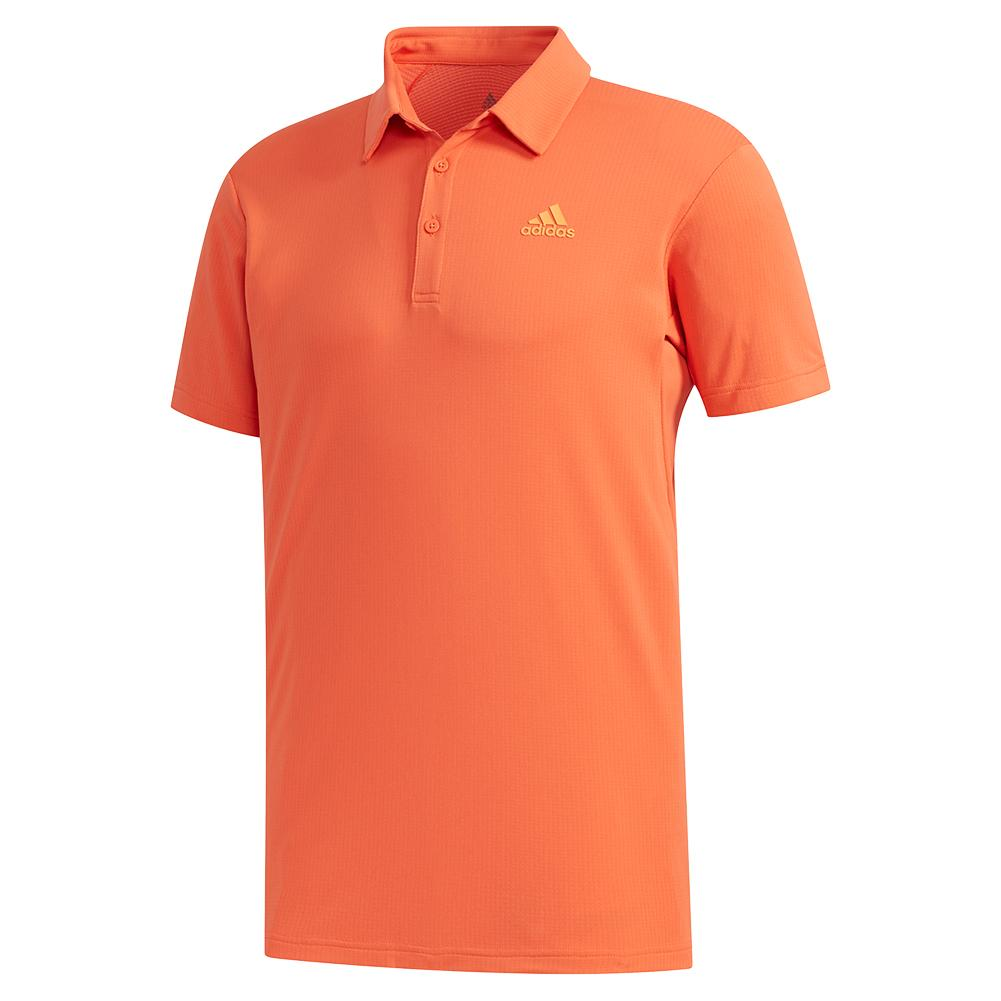 Men's Heat.Rdy Color Block Tennis Polo Glory Amber