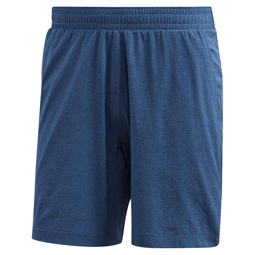 Men's Heat.Rdy Ergo Melange 9 Inch Tennis Short Tech Indigo