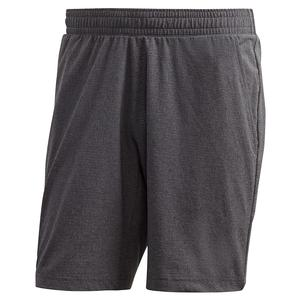 Men`s HEAT.RDY Ergo Melange 9 Inch Tennis Short DGH Solid Grey