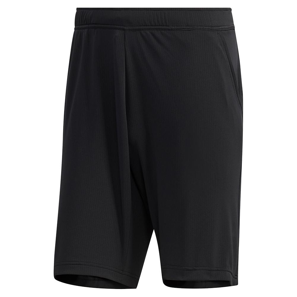 Men's Heat.Rdy Color Block 9 Inch Tennis Short Black