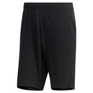 Men`s HEAT.RDY Color Block 9 Inch Tennis Short Black