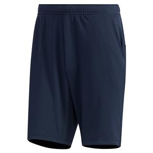 Men`s HEAT.RDY Color Block 9 Inch Tennis Short Legend Ink