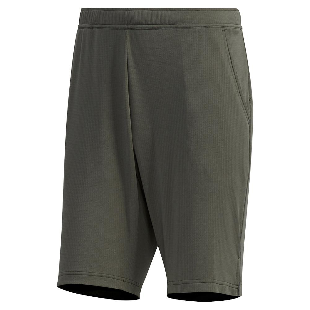 Men's Heat.Rdy Color Block 9 Inch Tennis Short Legend Earth