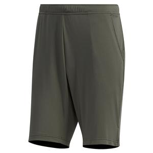 Men`s HEAT.RDY Color Block 9 Inch Tennis Short Legend Earth