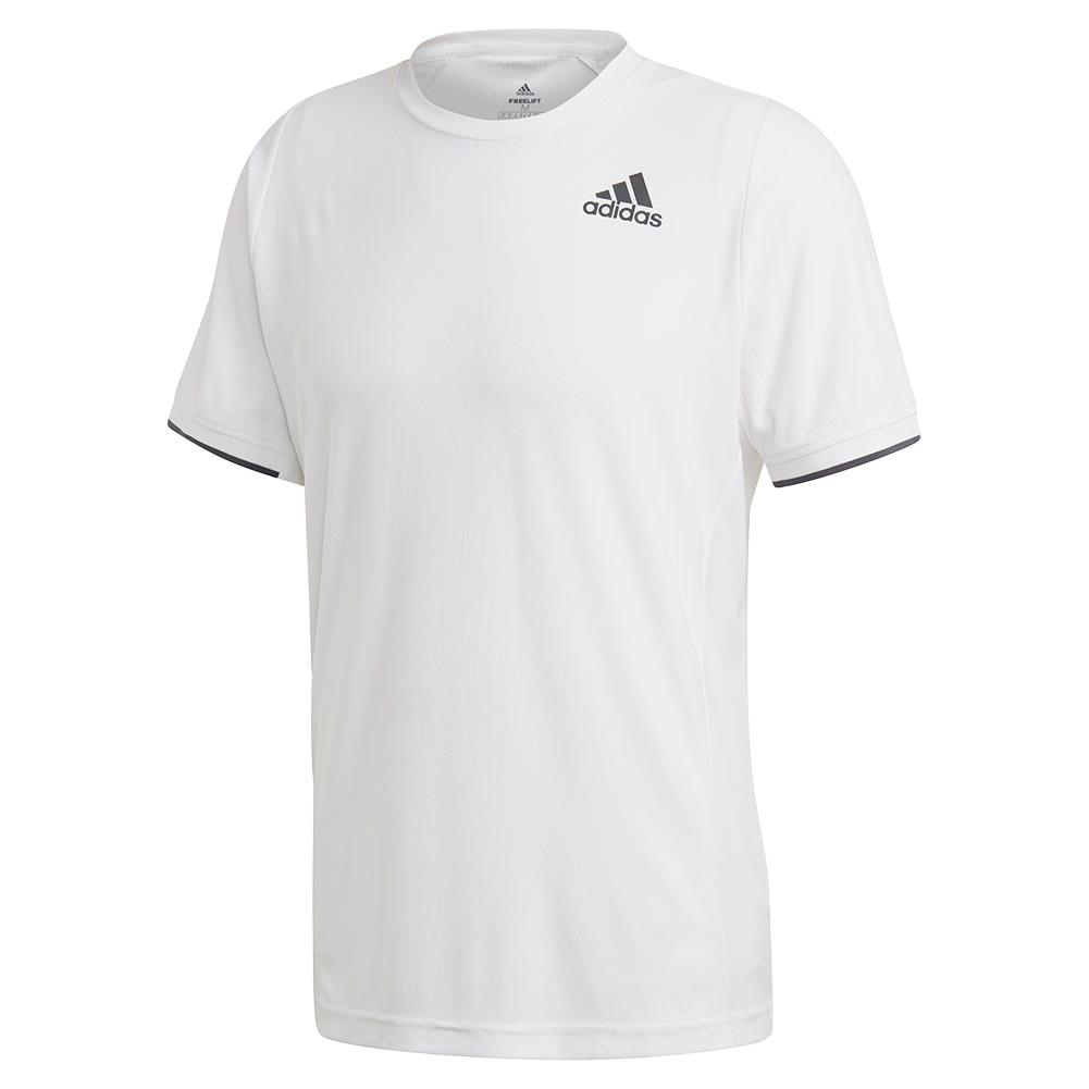 Men's Game Set Freelift Tennis Top White