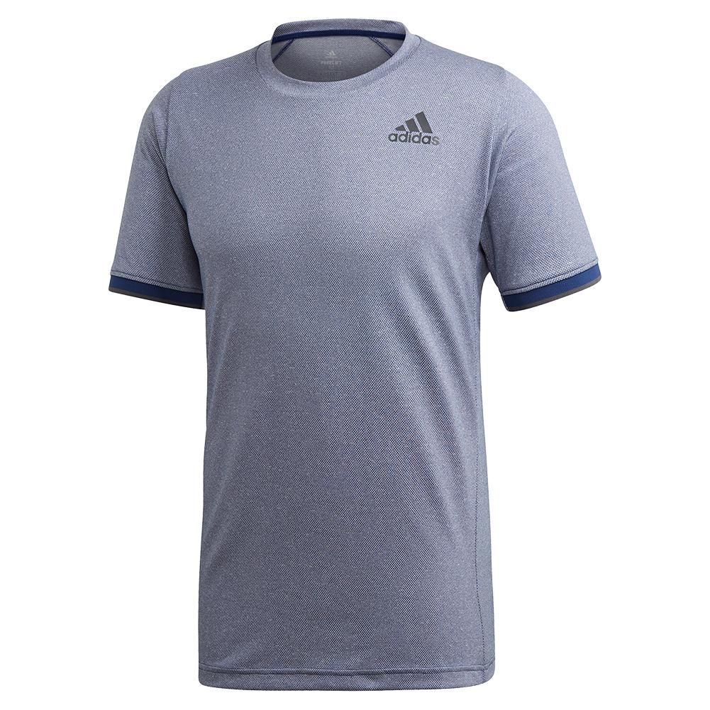 Men's Game Set Freelift Tennis Top Tech Indigo Melange