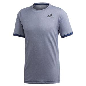 Men`s Game Set FreeLift Tennis Top Tech Indigo Melange