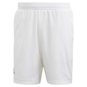 Men`s Game Set Ergo 9 Inch Tennis Short White