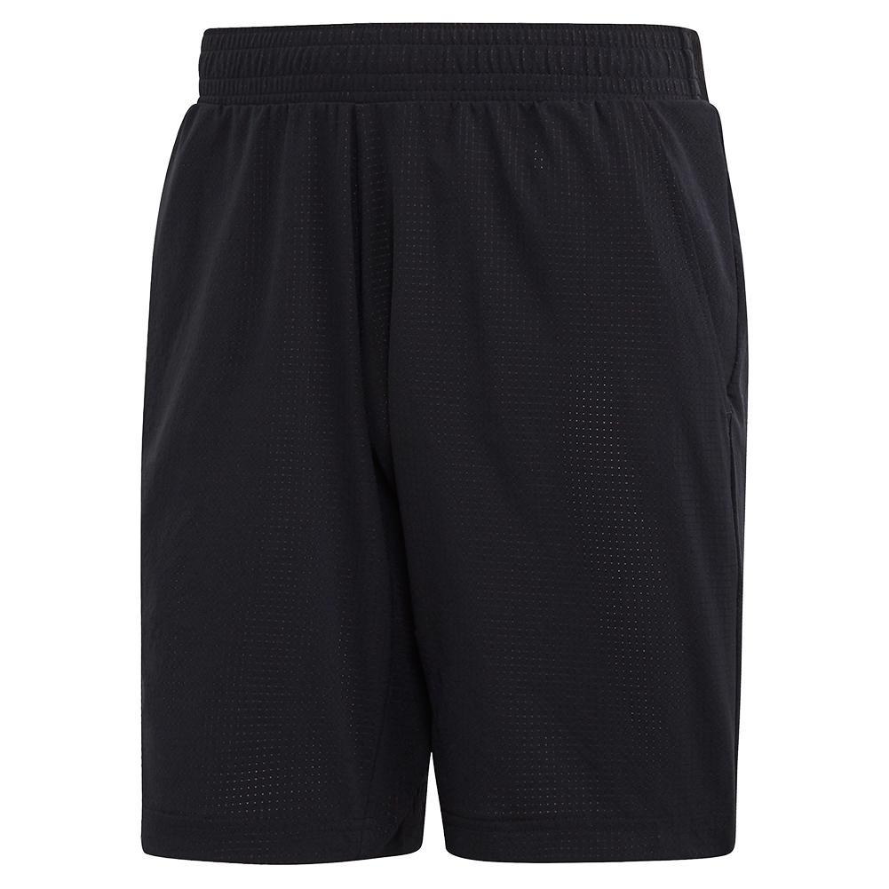 Men's Game Set Ergo 9 Inch Tennis Short Black