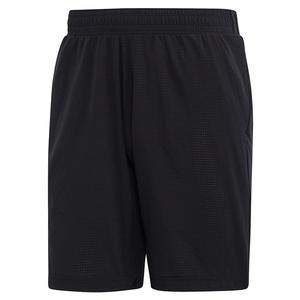 Men`s Game Set Ergo 9 Inch Tennis Short Black