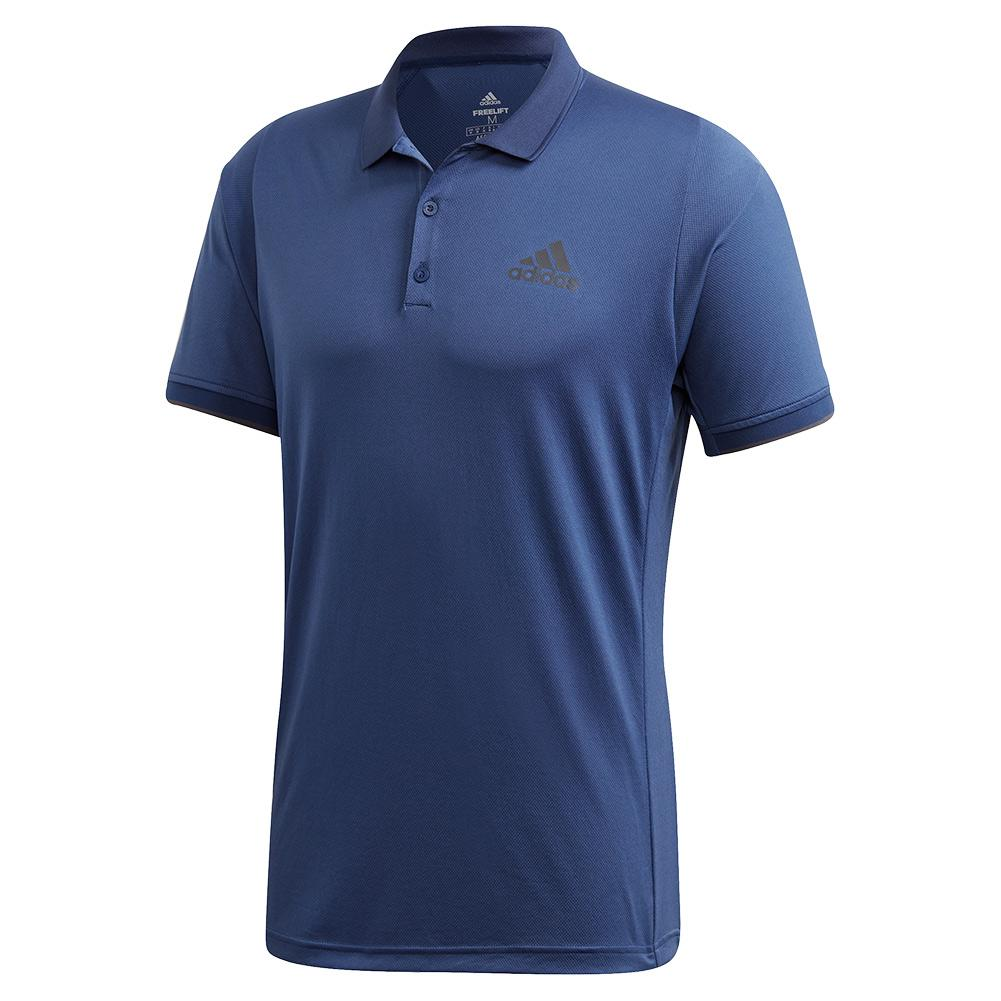 Men's Game Set Freelift Tennis Polo Tech Indigo