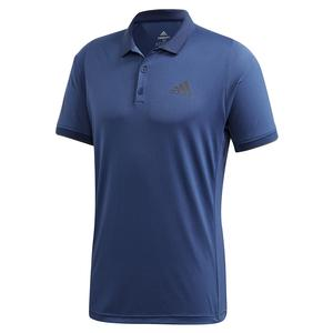 Men`s Game Set FreeLift Tennis Polo Tech Indigo