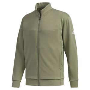 Men`s Club Knit Tennis Jacket Legacy Green