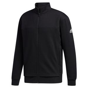 Men`s Club Knit Tennis Jacket Black