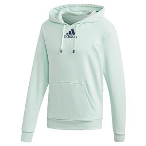 Men`s Category Graphic Tennis Hoodie Dash Green and Tech Indigo
