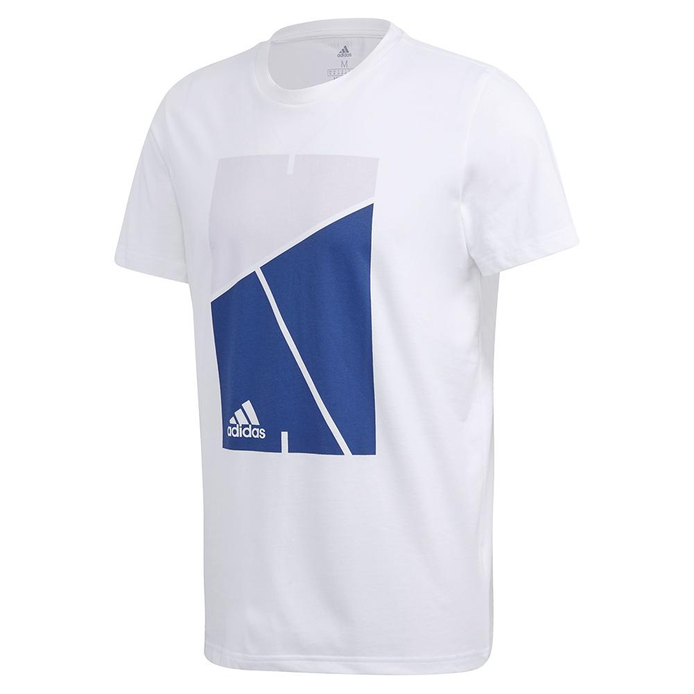 Men's Club Court Tennis Tee White