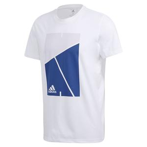 Men`s Club Court Tennis Tee White