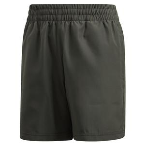Boys` Club 5 inch Tennis Short Legend Earth and Legacy Blue