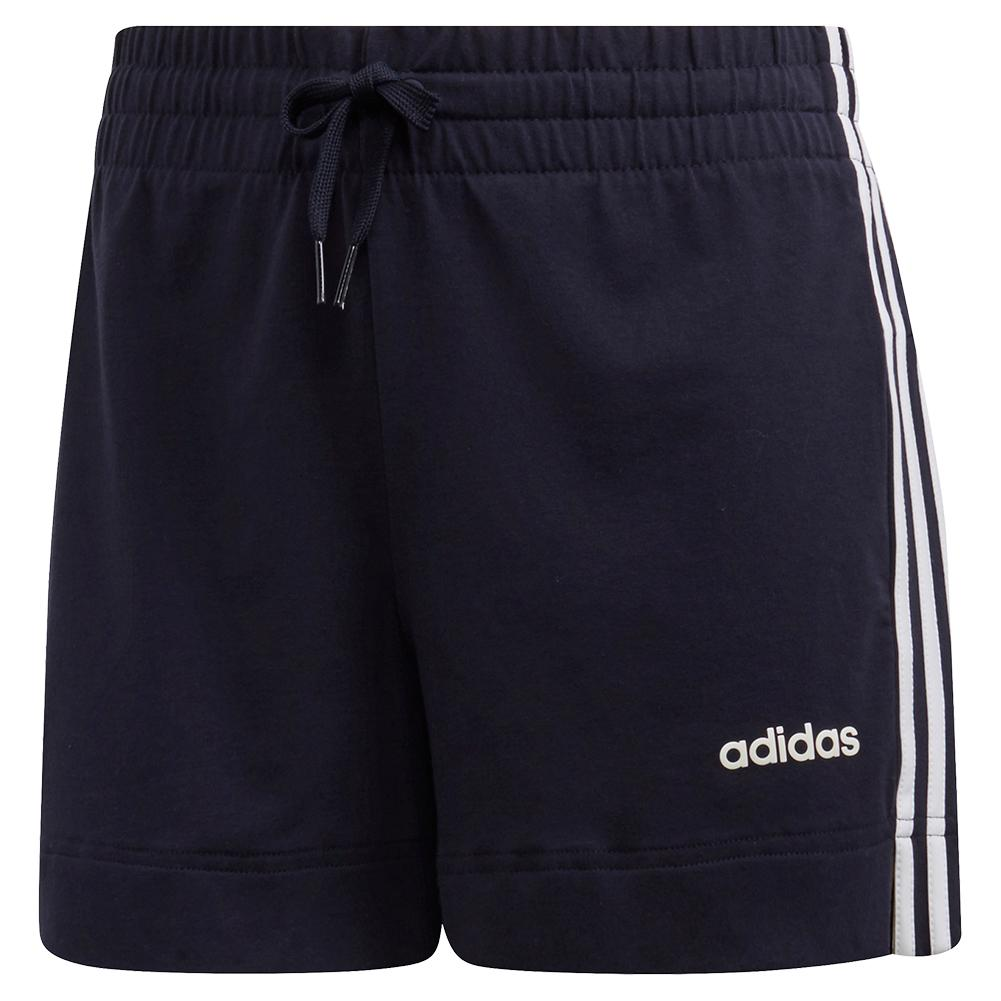 Women's 3 Stripes Training Short Legend Ink And White