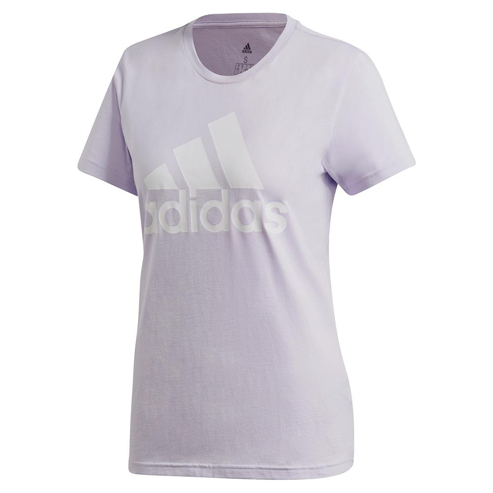 Women's Color Badge Of Sport Training Tee Purple Tint