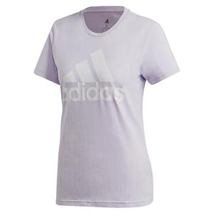 Women`s Color Badge of Sport Training Tee Purple Tint