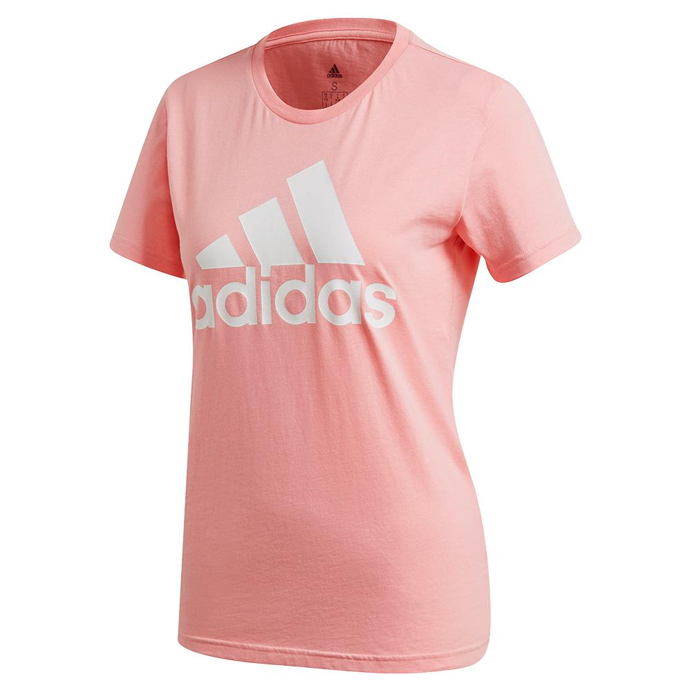 Women's Color Badge Of Sport Training Tee Glory Pink