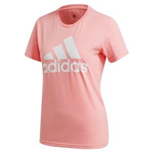 Women`s Color Badge of Sport Training Tee Glory Pink
