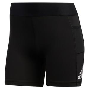 Women`s Alphaskin Support 3 Inch Training Short Black and White