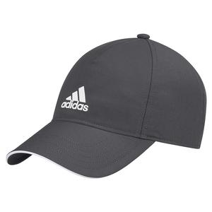 Unisex 4AT Aeroready Tennis Cap Grey Six and White
