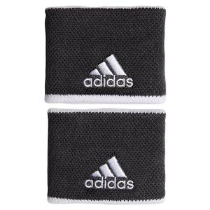 Small Tennis Wristband Grey Six and White