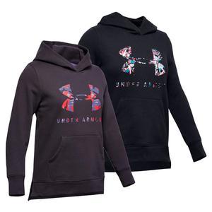 Girls` Rival Print Fill Logo Hoodie
