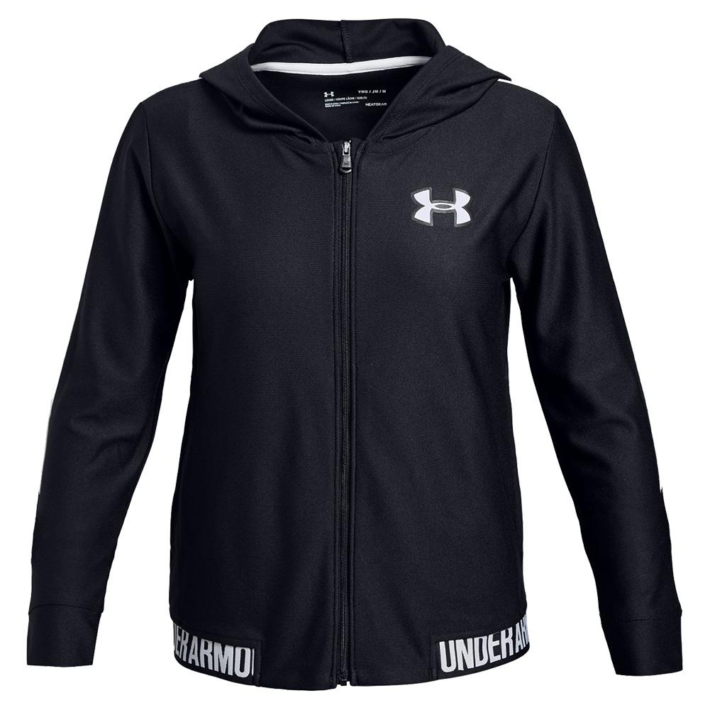 Under Armour Girls Play Up Full Zip Jacket