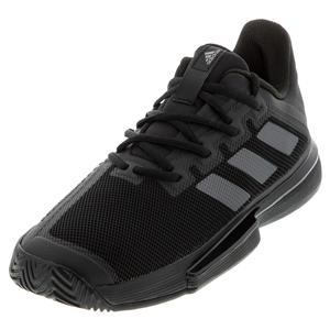 Men`s SoleMatch Bounce Tennis Shoes Core Black and Night Metallic