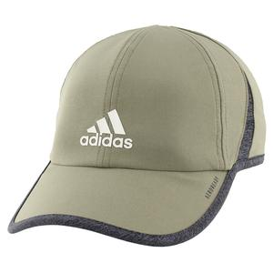 Men`s Superlite Tennis Cap Legacy Green and Dark Heather Grey