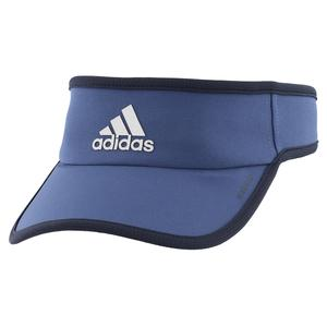 Men`s Superlite Tennis Visor Tech Indigo and Legend Ink Blue
