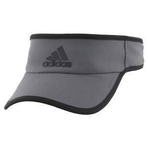 Men`s Superlite Tennis Visor Grey Six and Black