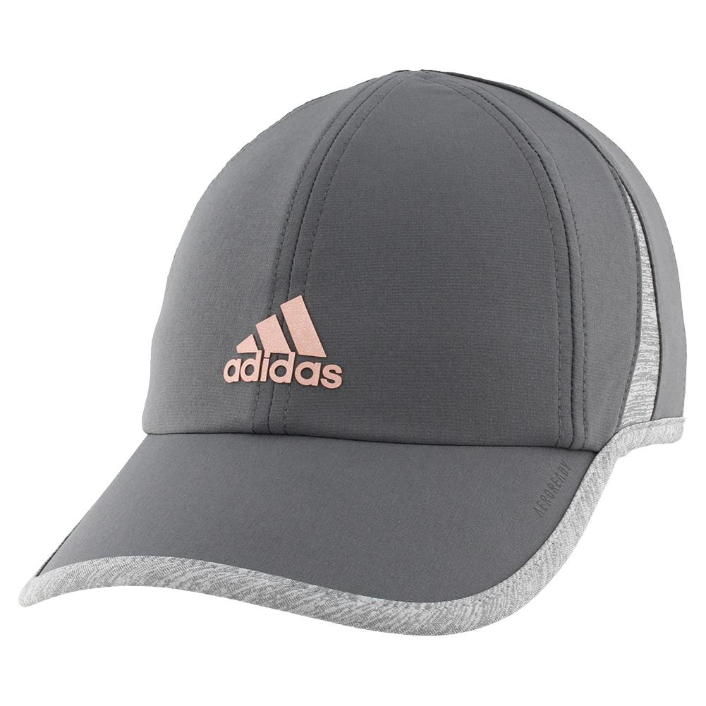 Women's Superlite Tennis Cap Grey Six And Rose Gold