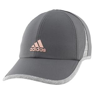 Women`s Superlite Tennis Cap Grey Six and Rose Gold