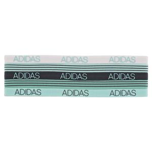 Women`s 5pk Creator Hairband Radiant Aqua and Fresh Green