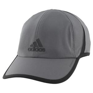 Men`s Superlite Tennis Cap Grey Six and Black