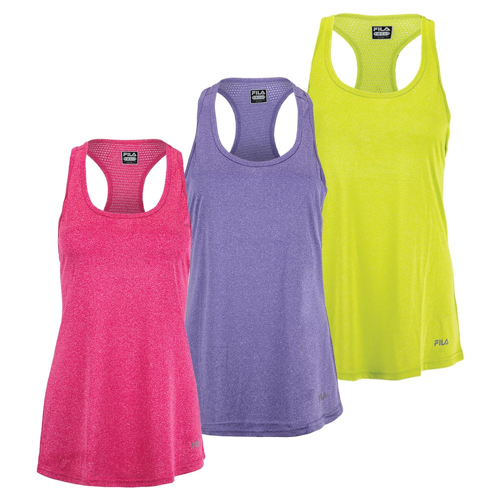 Women's Move It Loose Heather Training Tank