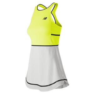 Women`s Tournament Tennis Dress Neon Yellow