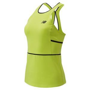 Women`s Tournament Tennis Tank Neon Yellow