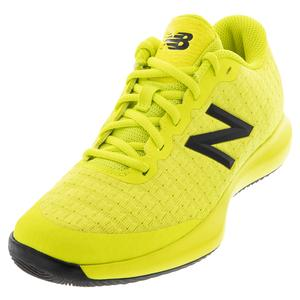 Men`s FuelCell 996v4 2E Width Tennis Shoes Sulphur Yellow and Lemon Slush