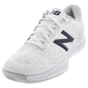 Men`s FuelCell 996v4 D Width Tennis Shoes White and Gray