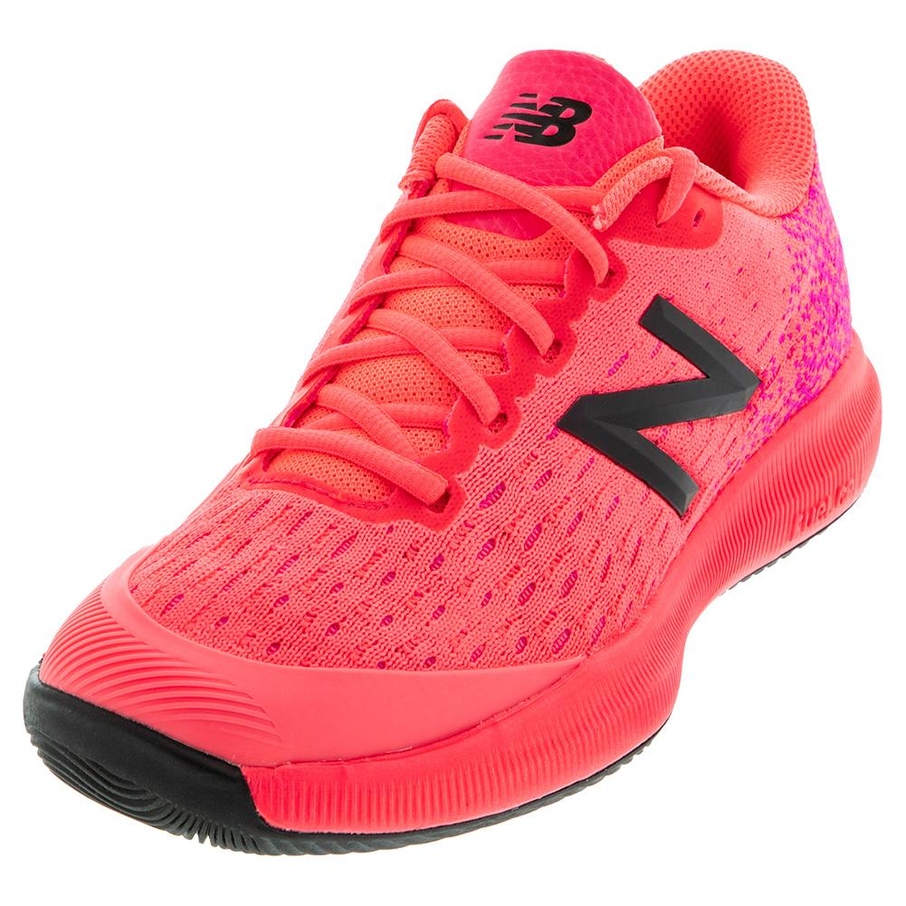 Women's Fuelcell 996v4 D Width Tennis Shoes Guava And White