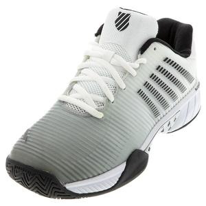 Men`s Hypercourt Express 2 Tennis Shoes White and Highrise