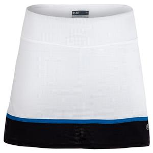 Women`s Fuse Borderline Tennis Skort White and Black
